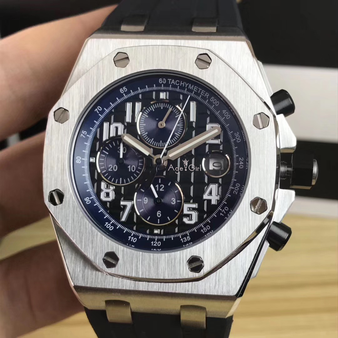 Luxury Brand New Men Silver Blue Black Rubber Watch Automatic Mechanical Sapphire Watches Transparent Royal Tachymeter LimitedLuxury Brand New Men Silver Blue Black Rubber Watch Automatic Mechanical Sapphire Watches Transparent Royal Tachymeter Limited