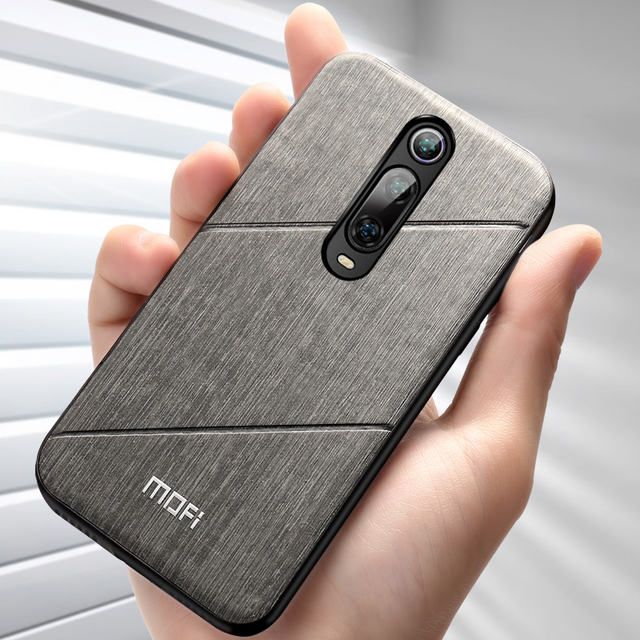 MOFi Redmi K20 Pro Luxury PU Leather Shockproof Back Case Cover