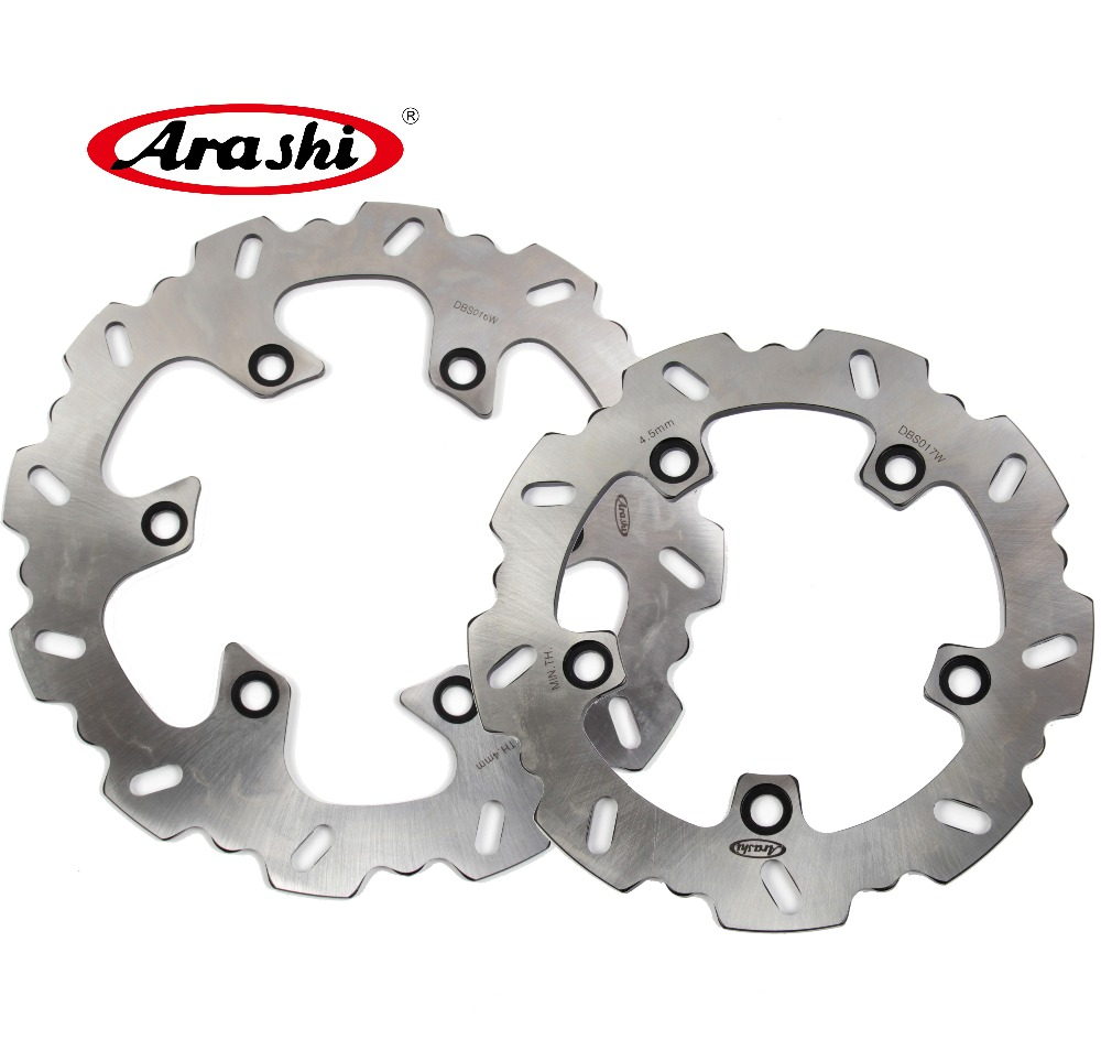 Arashi 1 Set For Suzuki AN BURGMAN 250 1998 1999 2000 2001 2002 CNC aluminum Motorcycle Front & Rear Brake Disk Rotors mfs motor front rear brake discs rotor for suzuki gsxr 600 750 1997 1998 1999 2000 2001 2002 2003 gsxr1000 2000 2001 2002 gold