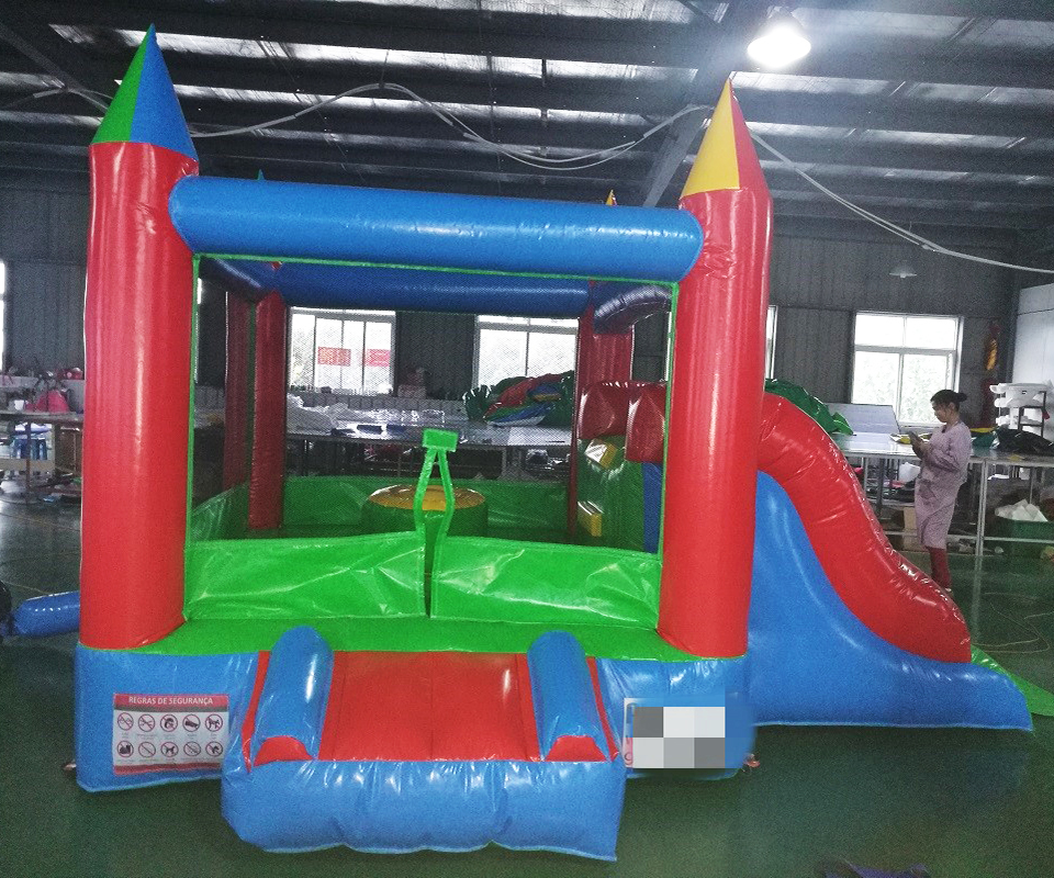 Popular inflatable castle kids playground indoor themed inflatable bouncer house for sale