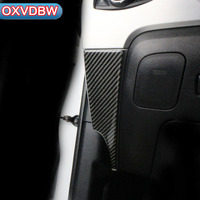 For Ford Mustang Carbon Fiber Interior Car Dashboard left and right panel Strip Car Styling Sticker 2015 2016 2017 Accessories