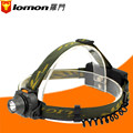 Lomon Waterproof 5W LED Headlamp Headlight Outdoor Camping Cycling Head Light Lamp Torch + 18650 Rechargeable Battery + Charger