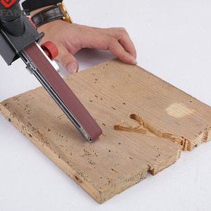 "Image 5 - 4""Sander Machine Sanding Belt Adapter Head Convert With Sanding Belts For Electric Angle GrinderWoodworking Grinding Power Tools"
