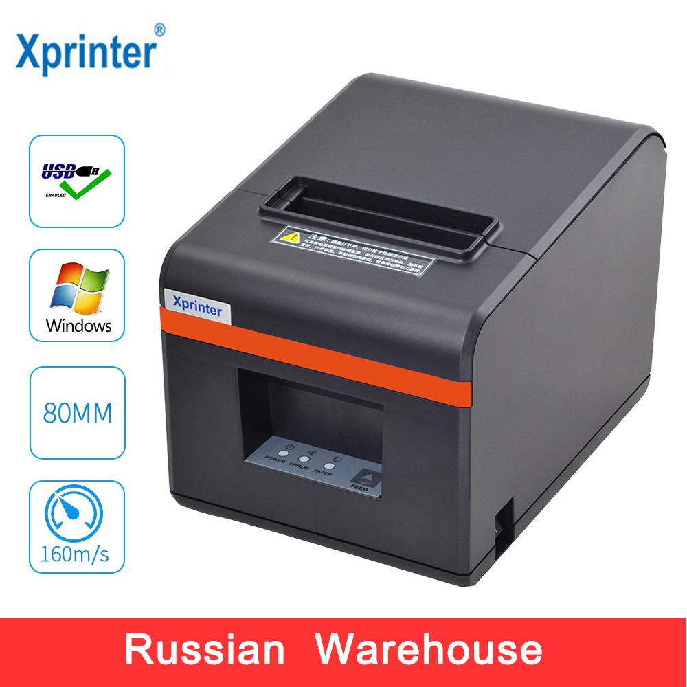 Imprimante thermique de facture de position d'imprimantes de reçu de Xprinter 80mm avec le coupeur automatique pour le Port d'usb/Ethernet de Restaurant pour le Restaurant de magasin de cuisine
