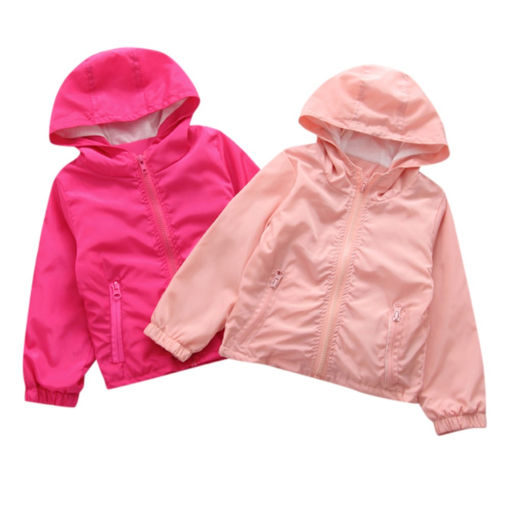US $2 41 25% OFF|Baby Girls Jacket Children Clothing 2018 Autumn Winter  Girls Clothes Outerwear Pure Color Girls Clothing dropship USA Warehouse-in
