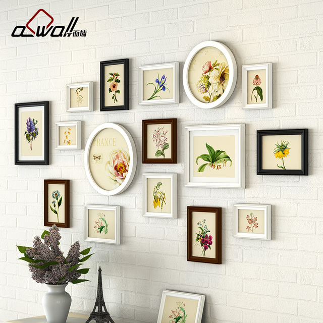 Picture Frames 16 Pieces/Set Baby Frames Wall Acrylic Photo Frame ...