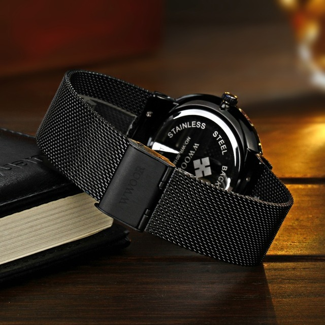 Waterproof Ultra Thin Dial Men's Watches 3