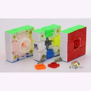 Image 5 - Cubo mágico rompecabezas Dayan 3x3x3 333 cubo v8 magnético TengYun M champion competición profesional twist wisdom juguetes de club juego de regalo