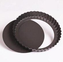 8 Inch Metal Non-Stick Round Pizza Pan Baking Pans Nonstick Cake Mold Pie Pizza Baking Tool Free Shipping