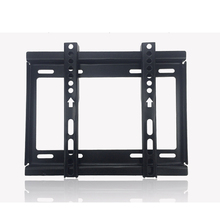 Common TV Wall Mount Flat Display screen Bracket Panel Mounted Extremely Slim TV Wall Mount for many 24″-42″ LCD LED Plasma TV, Screens