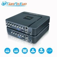 TIANANXUN AHD DVR 1080N 4Ch 8Ch 5in1 For CCTV Kit VGA HDMI Security System 1080P IP