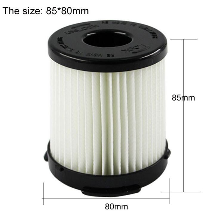 High Efficiency cylinder HEPA Filter ZW1300-6 ZW1300-6S ZW1300Vacuum Cleaner Parts Cartridge Filter Dust 85X80mm curewe kerien brand men s genuine leather long zipper purse business wallet handbag
