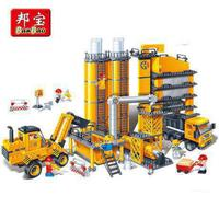 Kids Toys Building Blocks Compatible With Model Building toy Large particles Plastic Diy 3d Miniature engineering 808 pcs