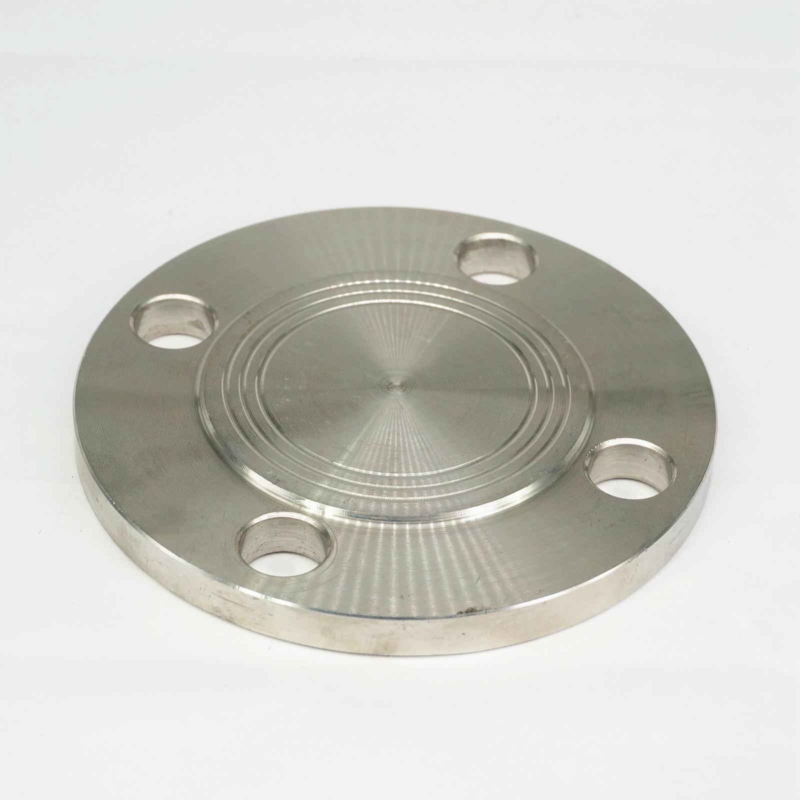 1-1/2 Blind Flange 304 Stainless Steel Pipe Fitting Flange End Cap Nominal Pressure 1.0 Mpa 1 2 bsp eqaul female thread elbow 90 deg 304 stainless steel pipe fitting adapter connector operating pressure 2 5 mpa