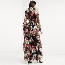 فستان طويل كاجوال