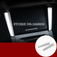 Inner Centre Console Storage Box Frame Cover 2pcs For Subaru Outback 2015 2017
