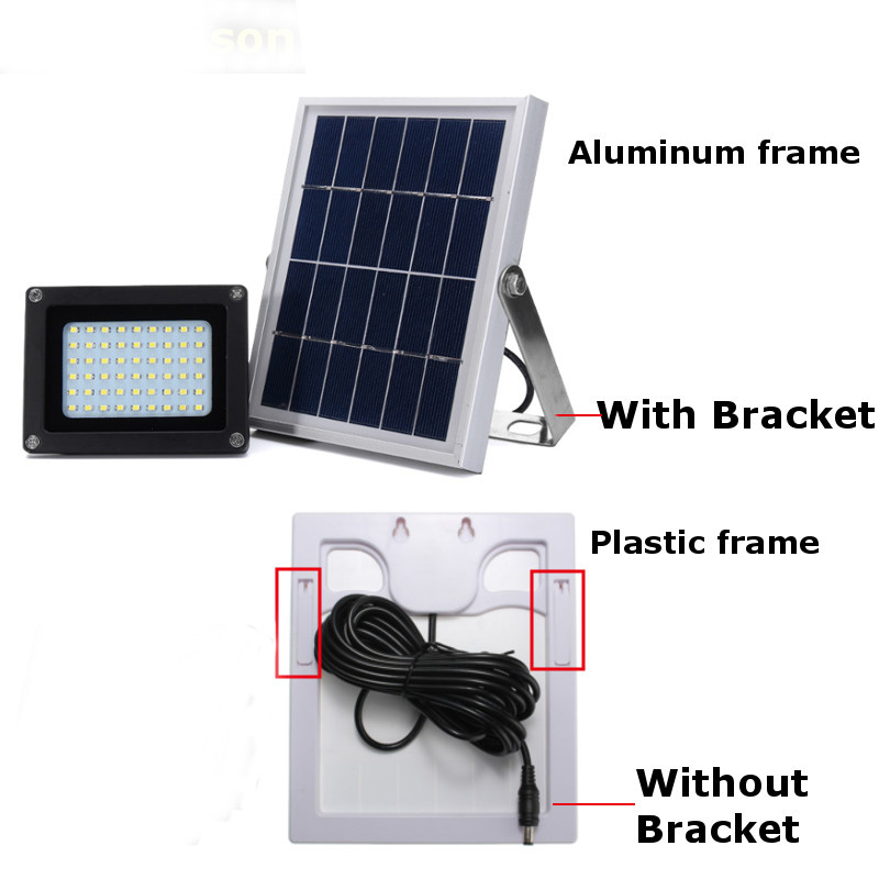 LED Solar Lights, Outdoor Security Floodlight, IP65 Waterproof, Auto-induction, Solar Flood Light for Lawn, Garden 120LED