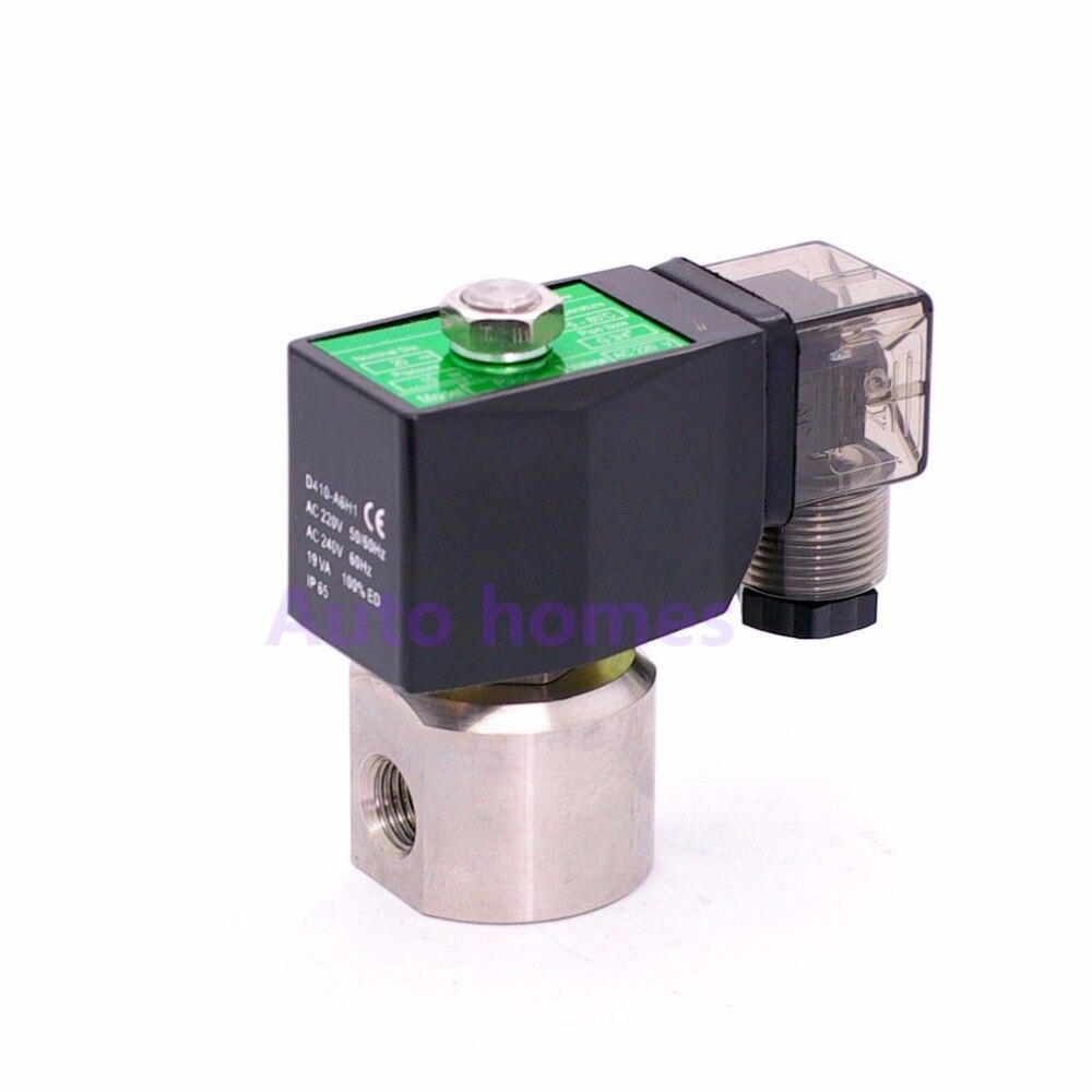Heimwerker Sanitär Wasser Hochdruck Magnetventil 200bar/100bar 1/4 Öffnung 1,2mm/2mm Nc Auto Waschen Pumpe Ventil Spg-01/spg-02 GüNstiger Verkauf 2 Weg