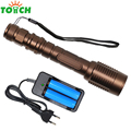 CREE XM-L T6 5 Mode Linternas Camping Tent Lamp Led Recargable 8000 Zoomable Tactical Led Torch Flashlights for 18650 Battery
