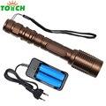 Cree t6 xm-l modo 5 linternas recargable da barraca de acampamento lâmpada led 8000 zoomable tático lanternas de led tocha para 18650 bateria