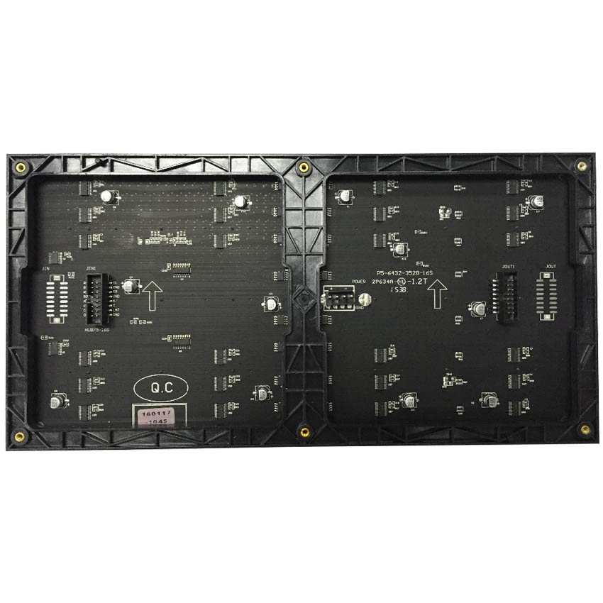 Factory Directly Sales Hd P5 SMD Indoor Led Display Screen 320*160mm 64*32pixels 1/16S Full Color Led Module For Advertising