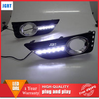 car 2012 styling For Toyota Camry LED DRL For Camry led fog lamps daytime running light High brightness guide LED DRL