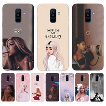 Soft Case For Samsung Galaxy A6 A8 Plus A5 A7 2018 2017 A6S A8S A9S A9 A8 Star Pro lite Note 8 9 Cover Ariana Grande(China)