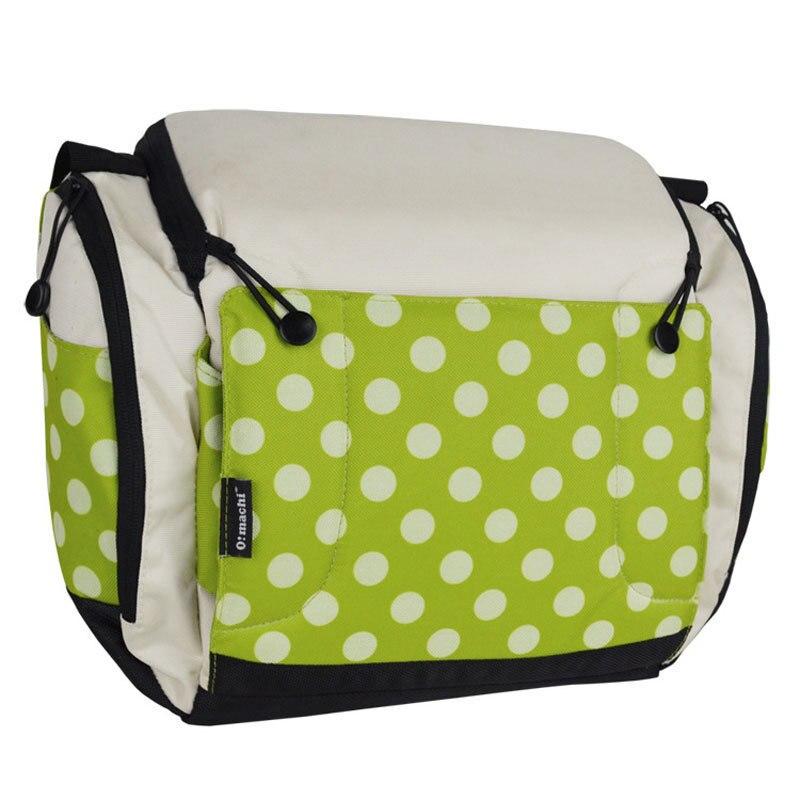 Bolsa portátil para pañales, bolsa para cochecito, bolsa plegable para cuna, bolsas para bebé, bolsas para mamá, cama de viaje para bebé de almacenamiento de - 2