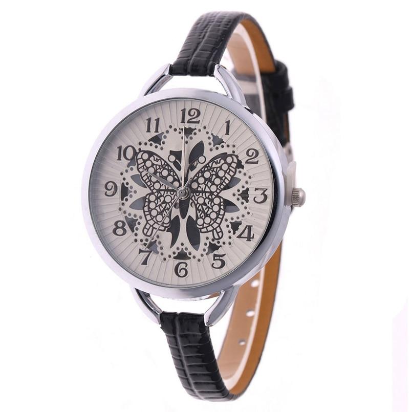 High Quality Gold Bracelet Watches Women Luxury Brand Leather Strap Quartz Watch For Women Dress Wristwatches Female Clock AG022