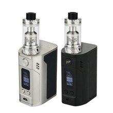 Оригинал 300 Вт wismec rx300 тк комплект ж/reux распылитель 6 мл питание by 4×18650 батареи vs только rx300 тк box mod электронных сигареты