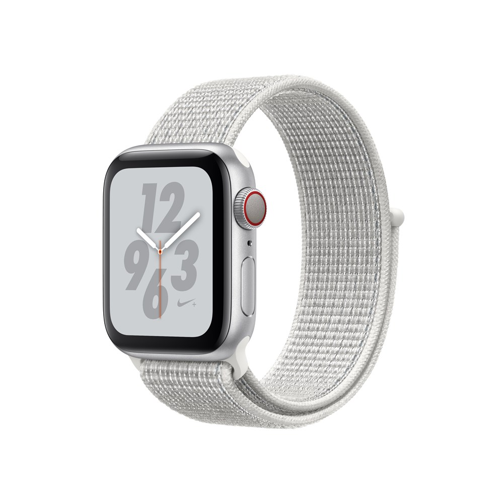 Apple Watch Nike+ Series 4, OLED, Touchscreen, GPS (satellite), Cellular, 30.1 g, Silver