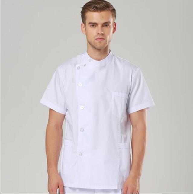 2017 Hospital & Dental Clinic Female Male Doctor Short Sleeve ...