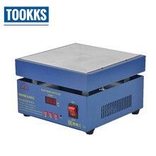 Uyue 946C 電子ホットプレート液晶デジタルディスプレイ予熱ステーション pcb smd 加熱電話 lcd タッチスクリーン別