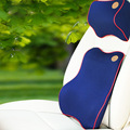 EE support  3d memory cotton auto car pillow + lumbar support seat supports car styling  XY01