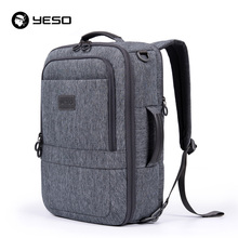 YESO Multifunctional Laptop Backpack Men 2018 Large Capacity