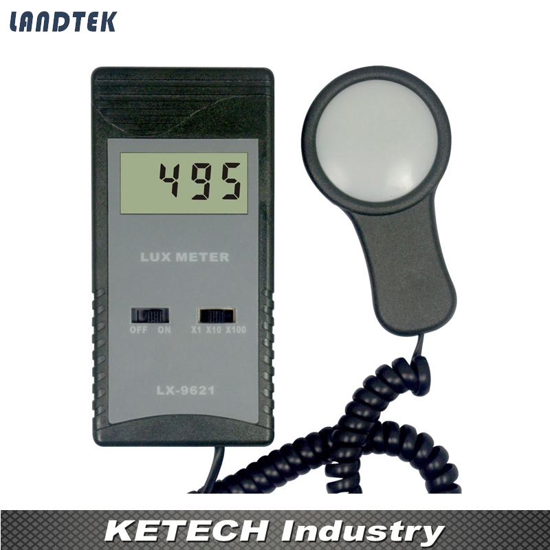 Digital Light Lux Meter With Max 50,000 , LX-9621 smart sensor ar823 digital light lux meter 200 000lux luxmeter luminometer photometer lux fc