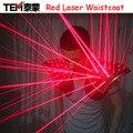 O envio gratuito de Laser Vermelho Terno, LED Colete, Colete luminoso Luvas Óculos de Laser Para Show de Laser