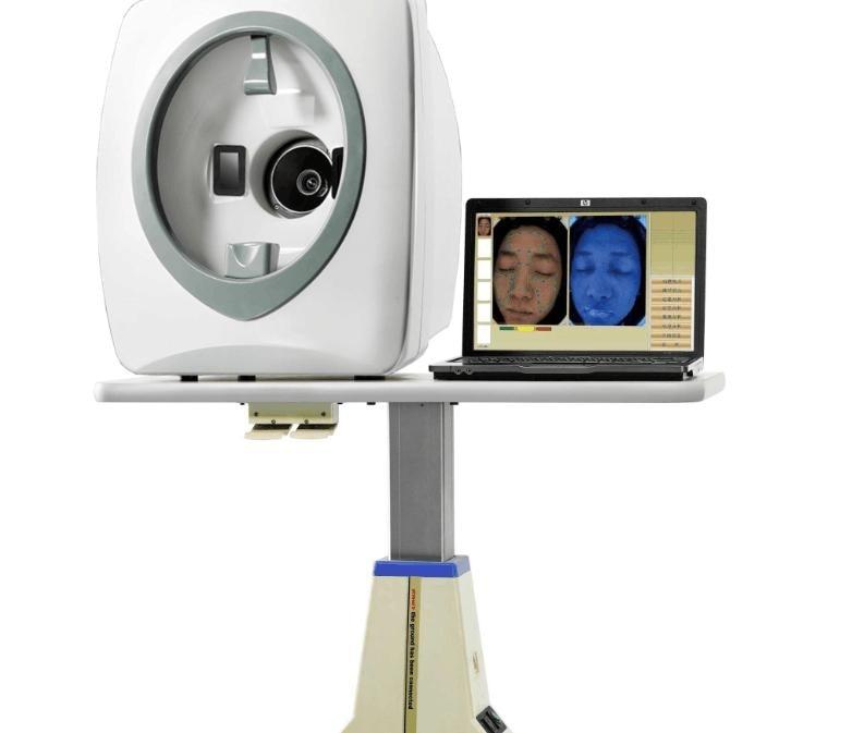 Non-invasive technology! 3D mirror facial skin analyzer / skin scanner / skin diagnostic equipment цена 2017