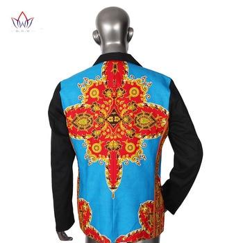 Brand Clothing African Clothes Mens Printed Blazer Men Jacket + Vest Fashion Slim Suits Dashiki Men Large Size 6XL Blazer WYN176 3