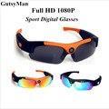 2017 GutsyMan Full HD 1080 P Esporte Lente Polarizada Óculos De Sol para esportes de Ação Ao Ar Livre Digital Inteligente gravador de vídeo de Fotos de viagem