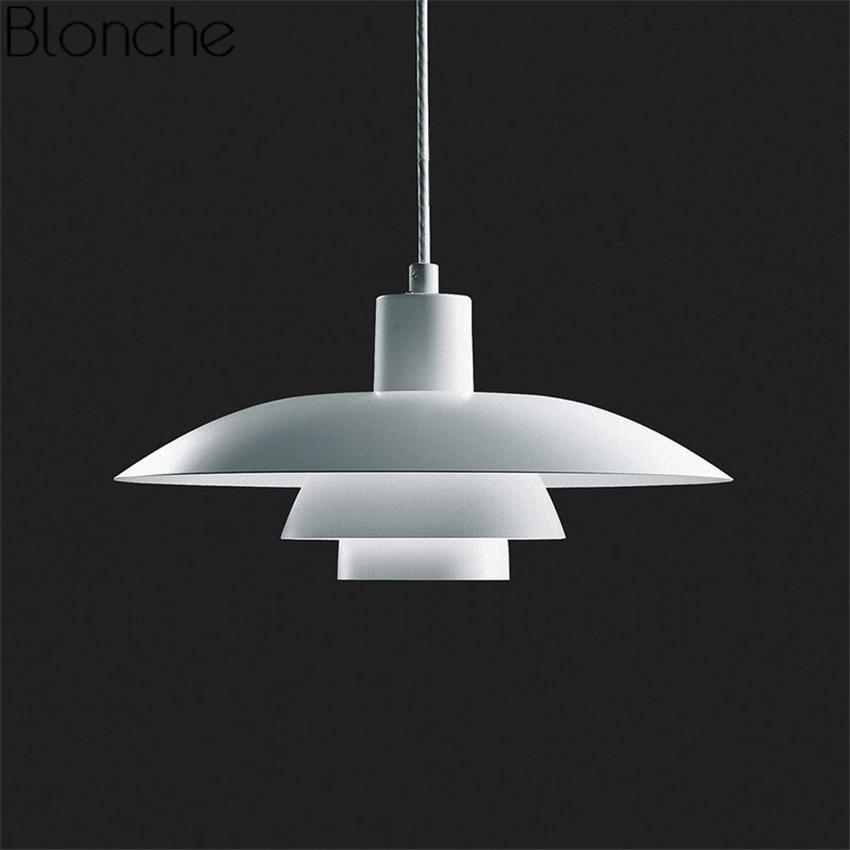 Louis Poulsen PH 4/3 Lampes Suspendues En Aluminium Hanglamp Industrielle Led Lampe Suspendue pour Salle À Manger Cuisine Décoration Intérieure Appareils