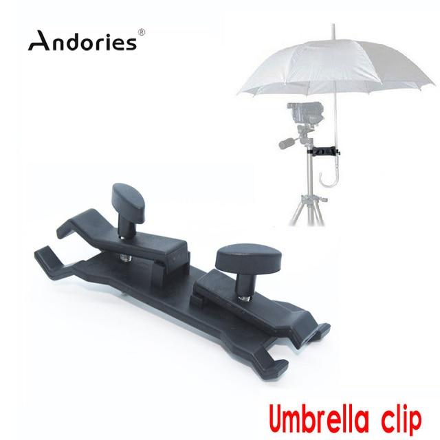 Great Outdoor Umbrella Holder Clip Clamp Bracket Support For Camera Tripod  Photography Studio Lighting Umbrella Light Stand