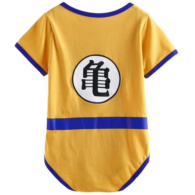 Bébé Garçons Dragon Ball Z Goku Costume Body Infantile Vegeta Mignon Parti Combishort 0-18 Mois
