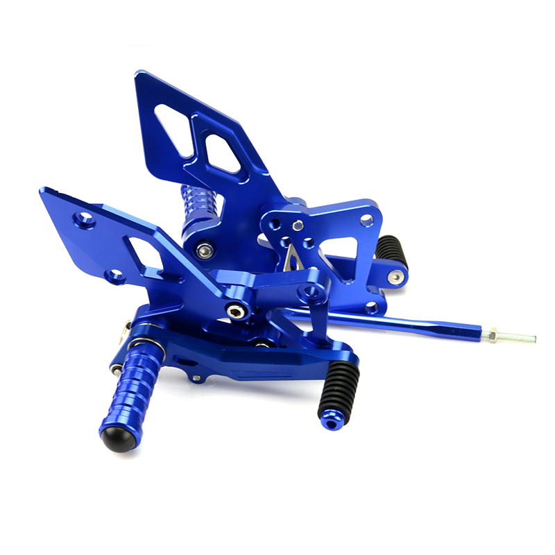 Adjustable Motorcycle Footrest Rearset Foot Rest Pegs Rear Sets Pedal For Yamaha YZF R25 R3 MT25 MT03 2014 2015 2016 2017 mt 10 good quality motorcycle folding rearset foot pegs motorcycle foot pegs for yamaha mt 10 mt10 2016 motorbike footrest pegs