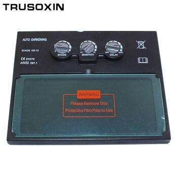 цена на Welding Accessories Solar Auto Darkening Welding Filter/Lens of TIG MMA MIG MAG Welder Cap Welding Machine/Equipment Tools