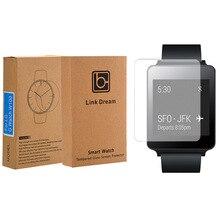 Klar Gehärtetem Glas Screen Protector Film für Smartwatch LG G Uhr