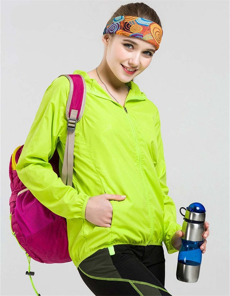 HTB1GczJNwHqK1RjSZFgq6y7JXXa4 Casual Quick Dry Skin Jacket Women Summer Anti UV Ultra-Light Breathable Windbreaker Waterproof Hooded Coat Female Thin Jackets