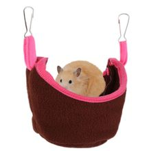 Small Animals Pets Hamster Hammock Hanging House Bed Mat Cotton Cage Nest Pet Sleeping Bed Rat Hamster Toys Cage Swing
