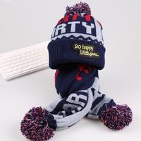 Children Hat Scarf Set Beanie Knit Baby Scarf Pattern Winter Hats For Girls Boys Fotografia Age
