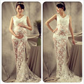 Elegant Maternity Pregnant Women Photography Props Floor-length Long Dress Photo Shoot Fancy Costume Free Size Pregnancy Props